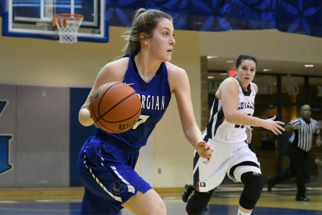 WOMEN'S BASKETBALL CAN'T FIND ANSWER AGAINST LANCERS