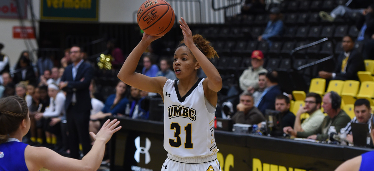 Burgess Nets Career High 16 Points; UMBC Snaps Losing Streak with 66-54 Win Against UMass Lowell