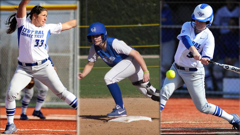Messina, Debrosse and Brown Sweep NEC Honors