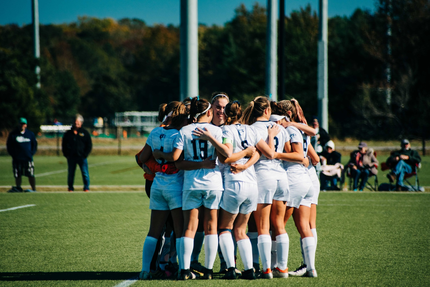 Women's Soccer Wins First Ever National Tourney Game