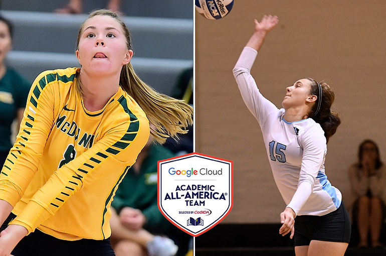 McDaniel's Bauman, JHU's Kishton Receive Academic All-America Awards