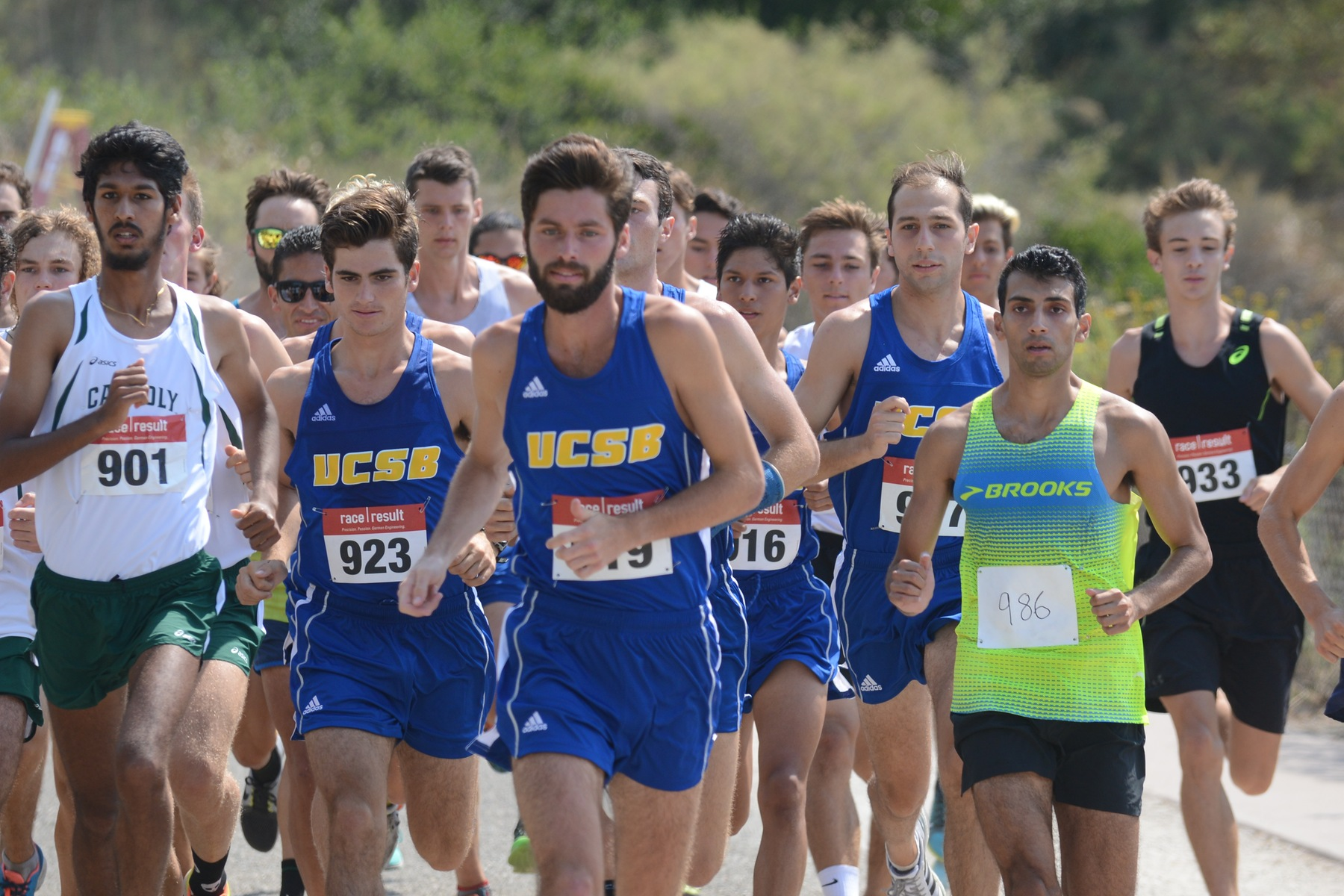 Cross Country Falls to Cal Poly at the Lagoon