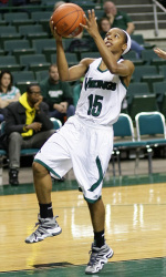 Cori Coleman posted 17 points against Loyola