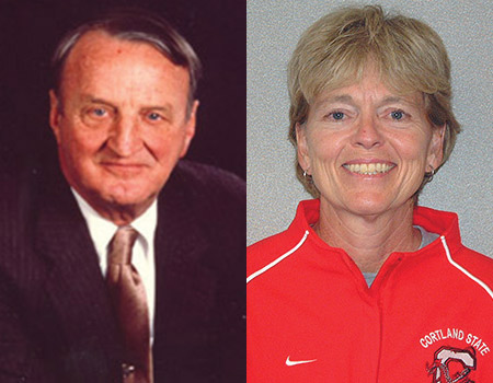 ONU Hall of Famers George Killian, Julie Lenhart inducted into national coaches Halls of Fame