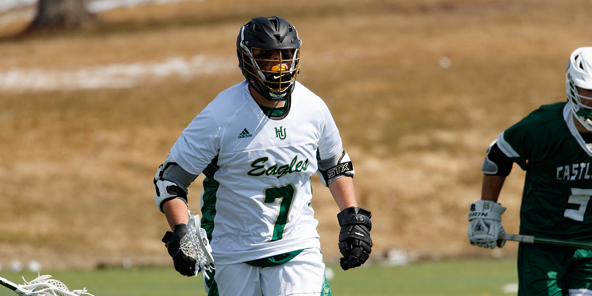 Wells Nets Five in Men's Lacrosse's 17-10 loss at Dean