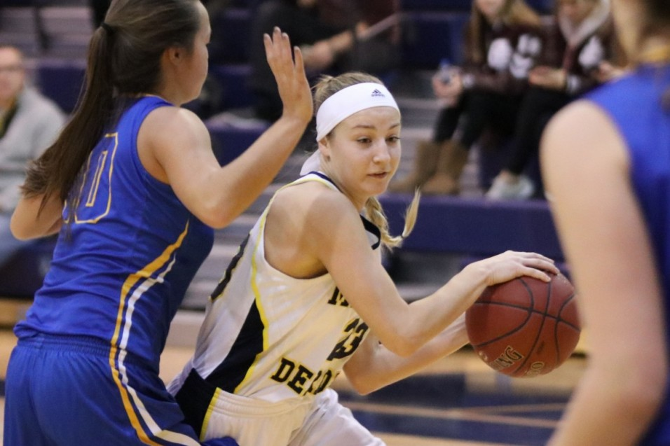Photo for Wolverines' second-half struggles lead to loss at Aquinas