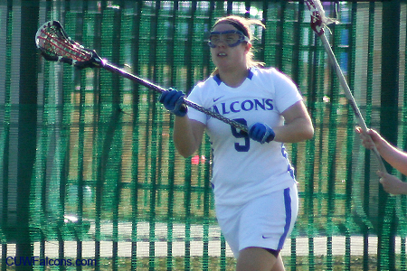 Women's Lacrosse rallies past Midland