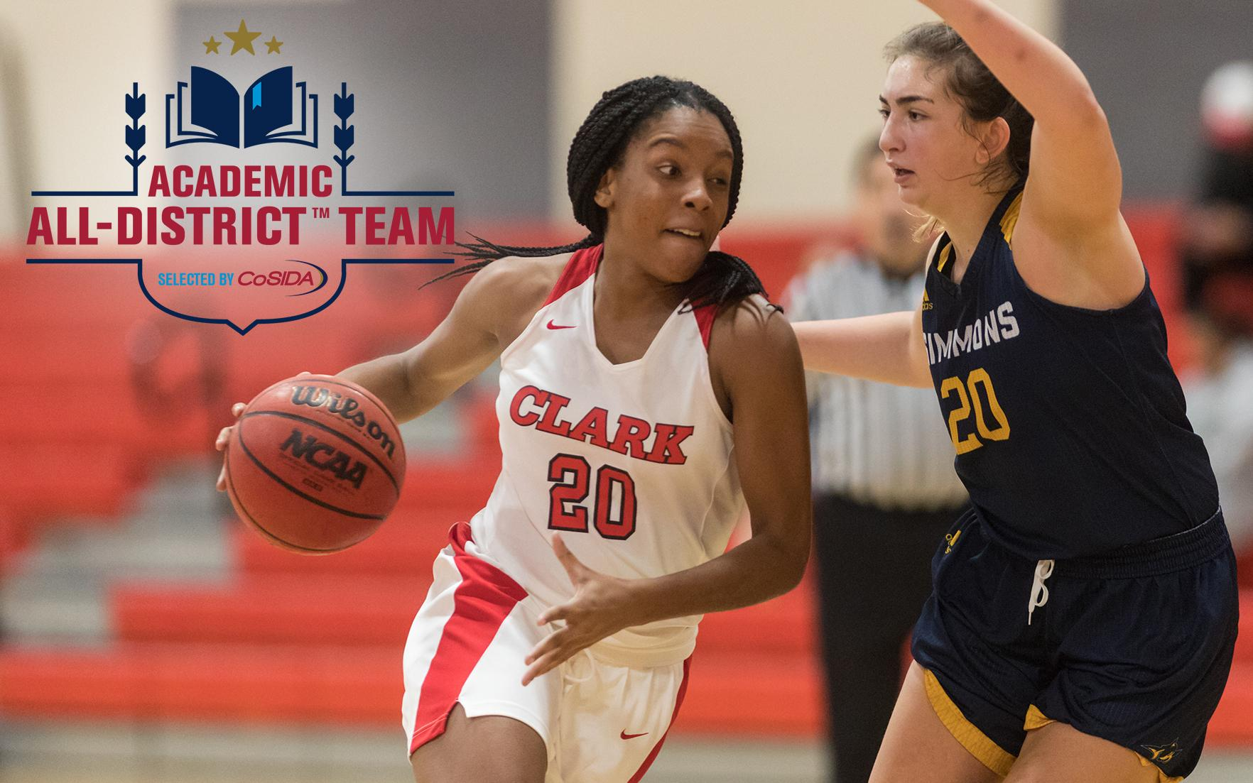 Ezemma Earns Spot on CoSIDA Academic All-District First Team