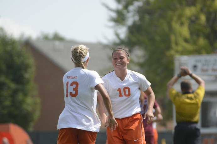 Lady Oilers Shutout Dragons 4-0