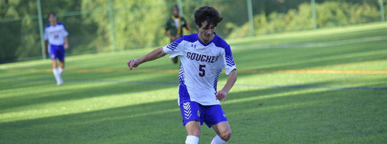 Late Goals Are The Difference In Goucher Men's Soccer Loss At Hood