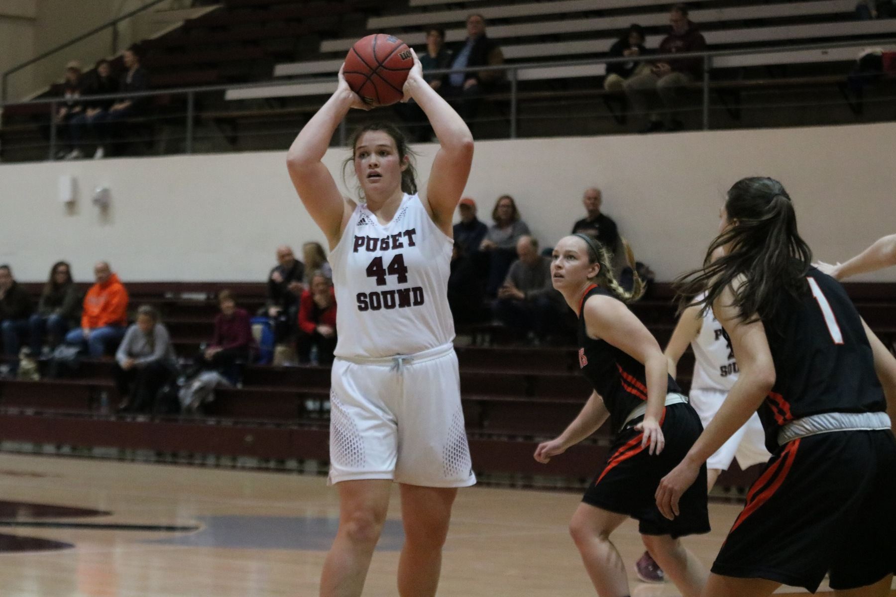Lange sets school record with 24 rebounds in season-opening win