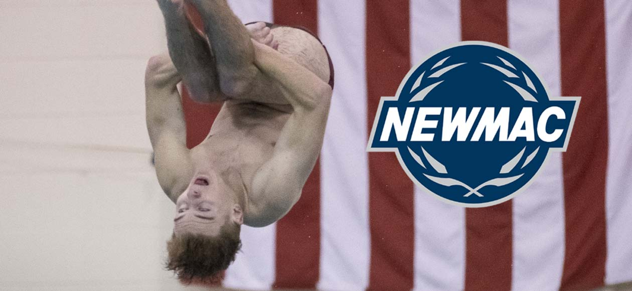 Pennington Tabbed NEWMAC Men's Diver of the Week Following Ithaca College Invitational