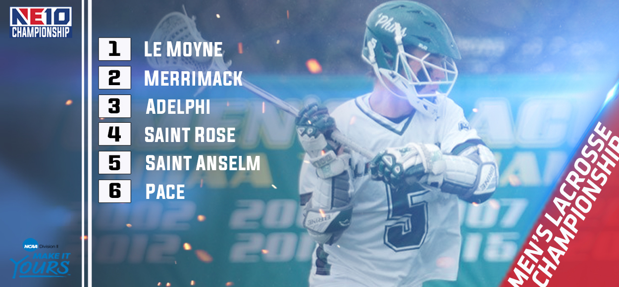 Embrace The Championship: Le Moyne Claims Men's Lacrosse Regular Season Title, Earns Top Seed for NE10 Championship