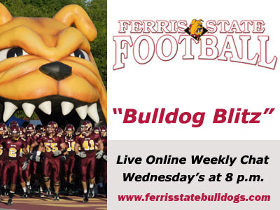 "Catch ""Bulldog Blitz"" Live Chat This Wednesday"