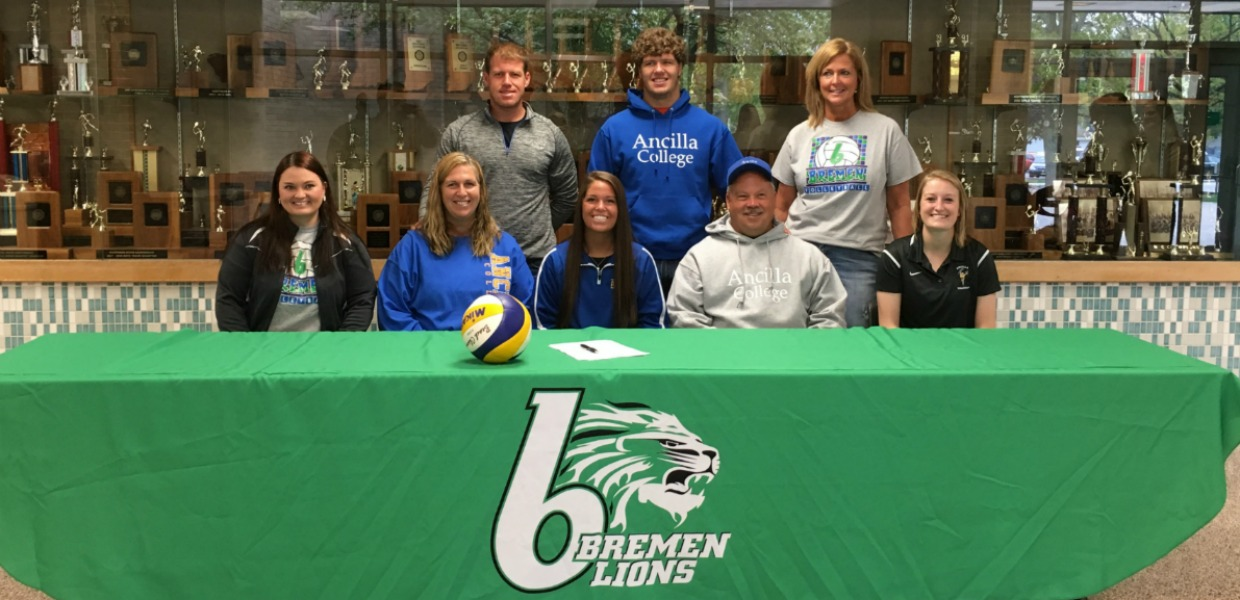Photo for Charger Volleyball Signs Trisha Moser
