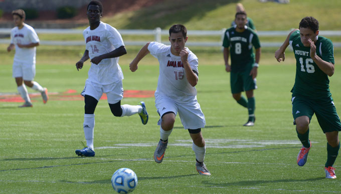 Men's Soccer Falls 3-0 at Emmanuel