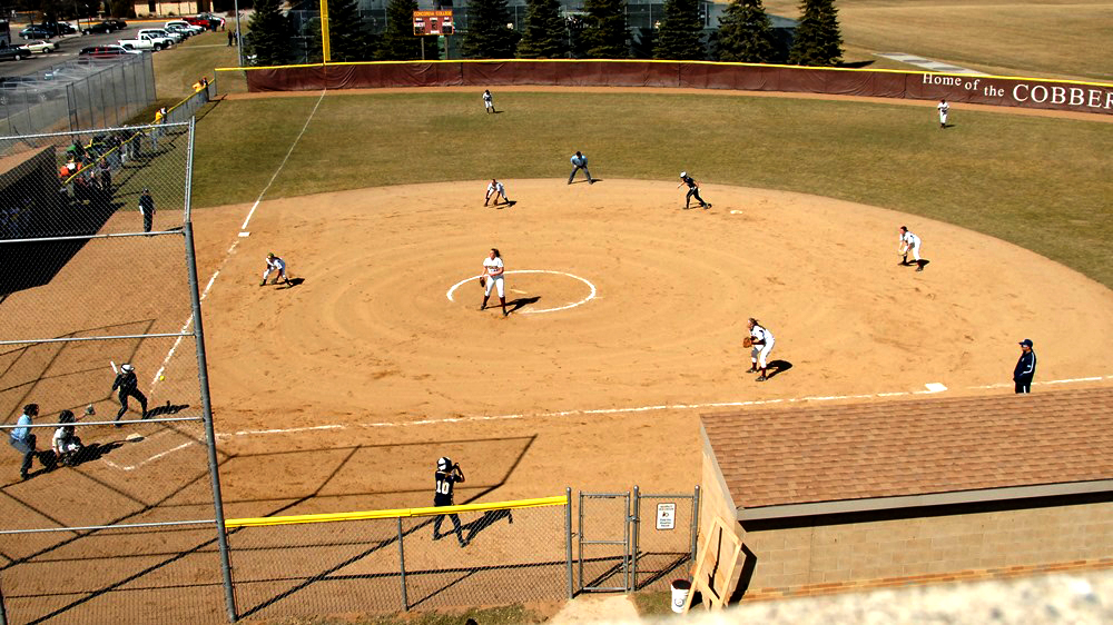 Cobber Softball Diamond