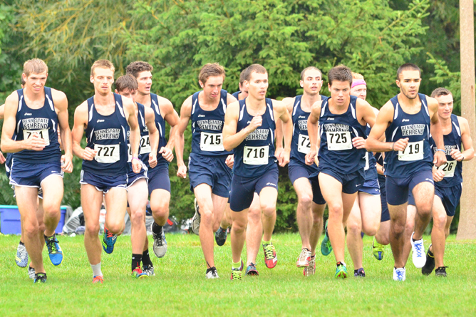 Men's Cross Country Lands Eight On All-Conference Team; Buffington Named Runner Of The Year