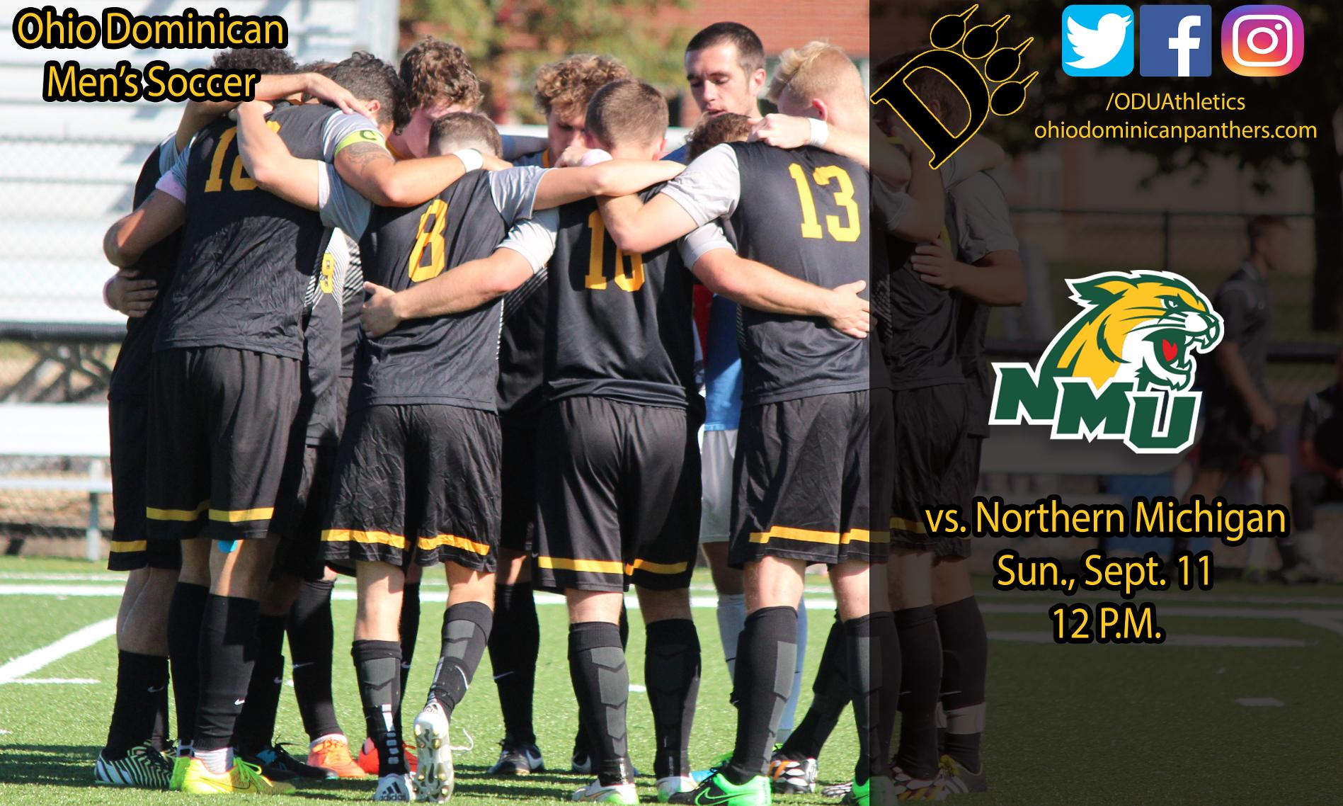 Men's Soccer Faces Northern Michigan For The First Time This Sunday
