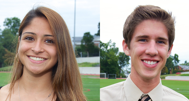 Stanton and Bernal Earn ODAC Athlete of the Week Honors
