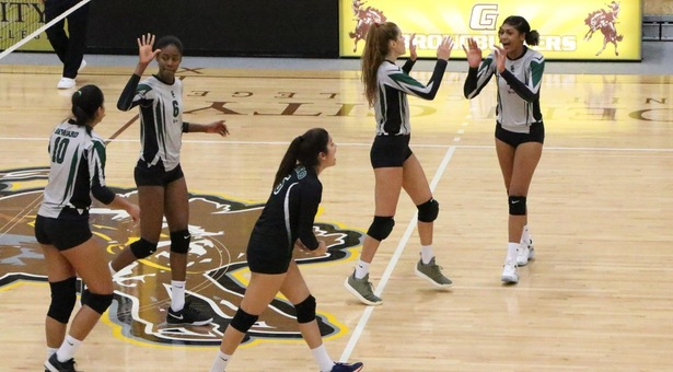 No. 3 Lady Saints volleyball handles Garden City on the road