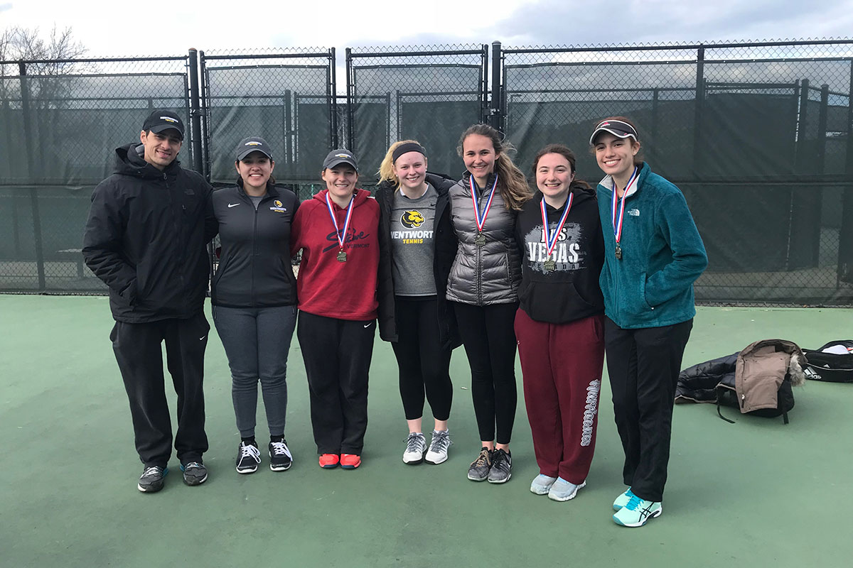 Women's Tennis Competes at Salem State Invitational