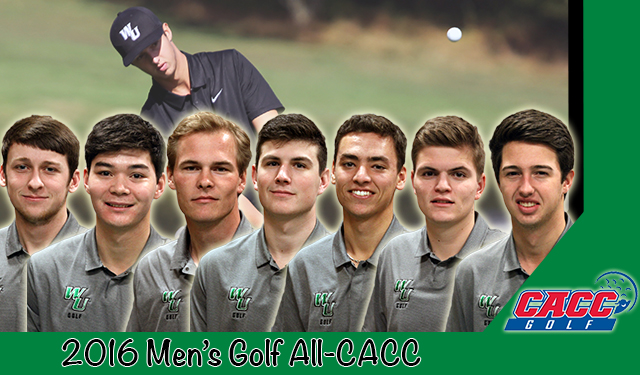 Rucinski Earns CACC Player and Rookie of the Year Awards in Leading Seven Wilmington Golfers to All-CACC