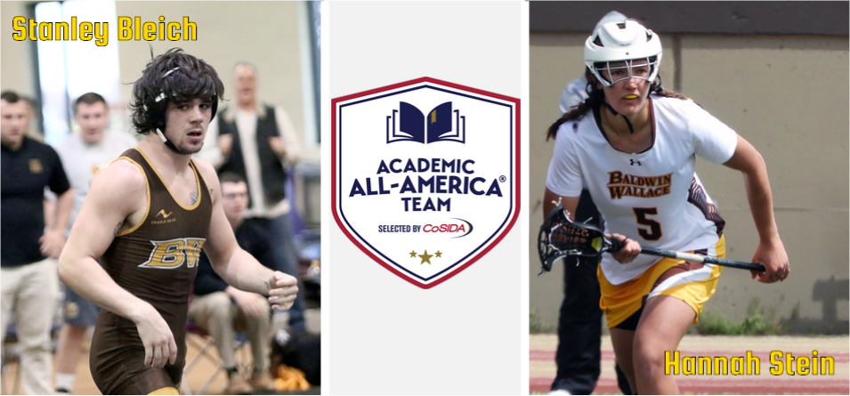 BW's Bleich and Stein Named CoSIDA At-Large Academic All-Americans