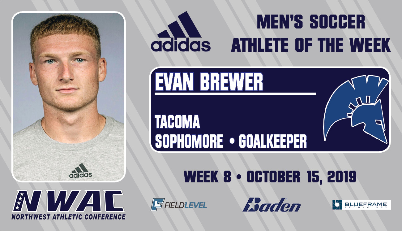 Adidas Athlete of the Week graphic for Evan Brewer