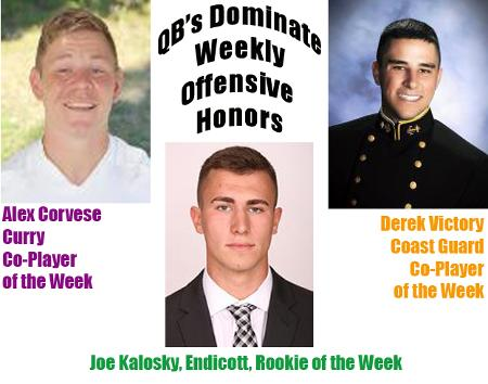 Corvese's Record-Breaking Game Garners NEFC Co-Offensive Player of the Week Honors