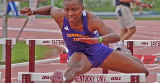 Lyons, Price continue success on the Golden Eagle track team