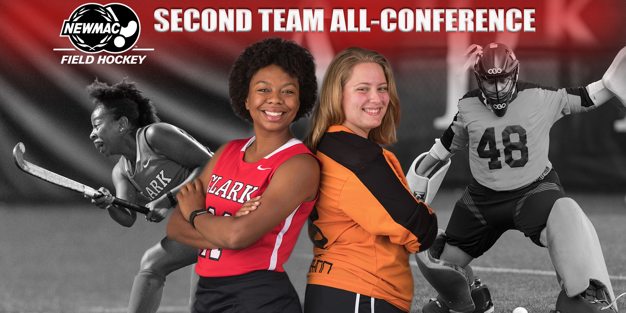 Barksdale and Michaud Named to NEWMAC All-Conference Second Team