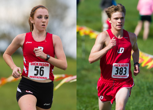 Mackenzie Shelgren and Andrew Fine are key contributors to the success of the Red Devils this season<BR>