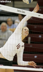 Bronco Volleyball Gives Wallace 200