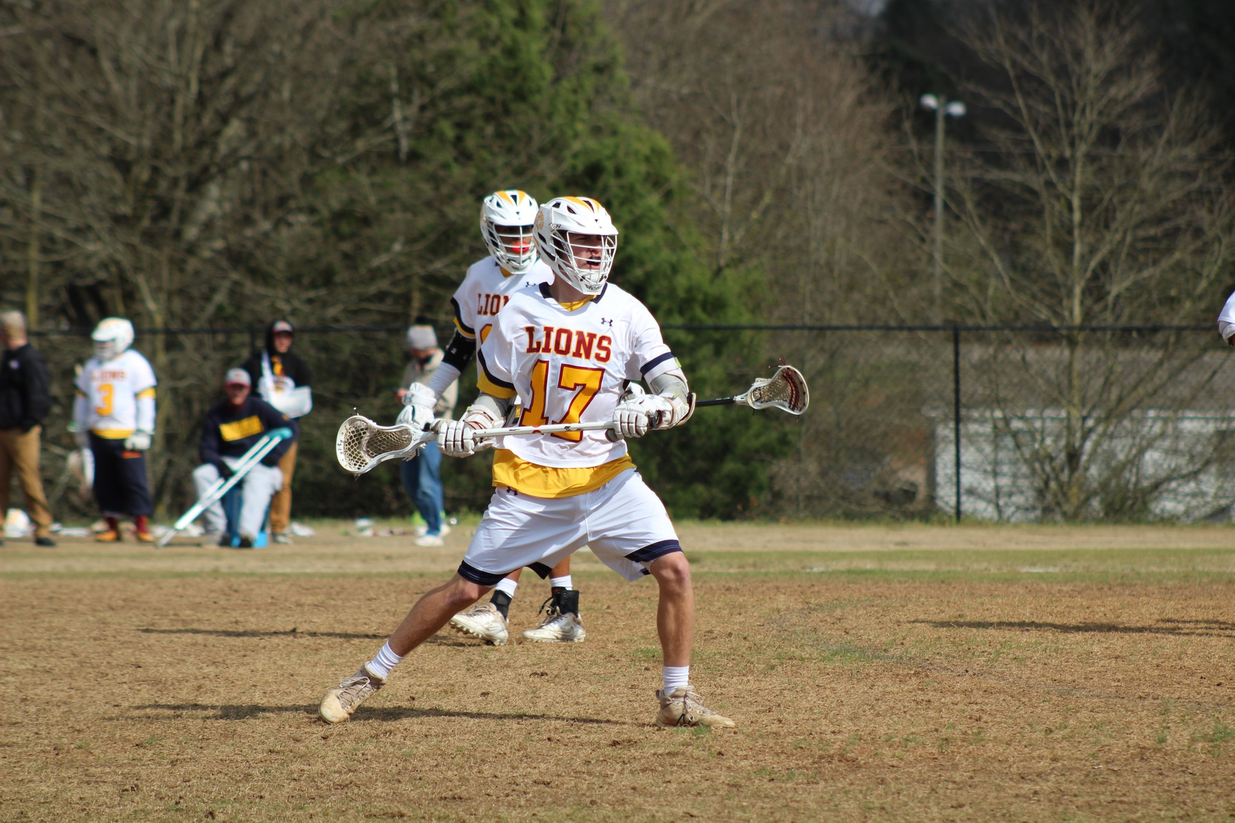 Men's Lacrosse Drops Conference Match to Lees-McRae