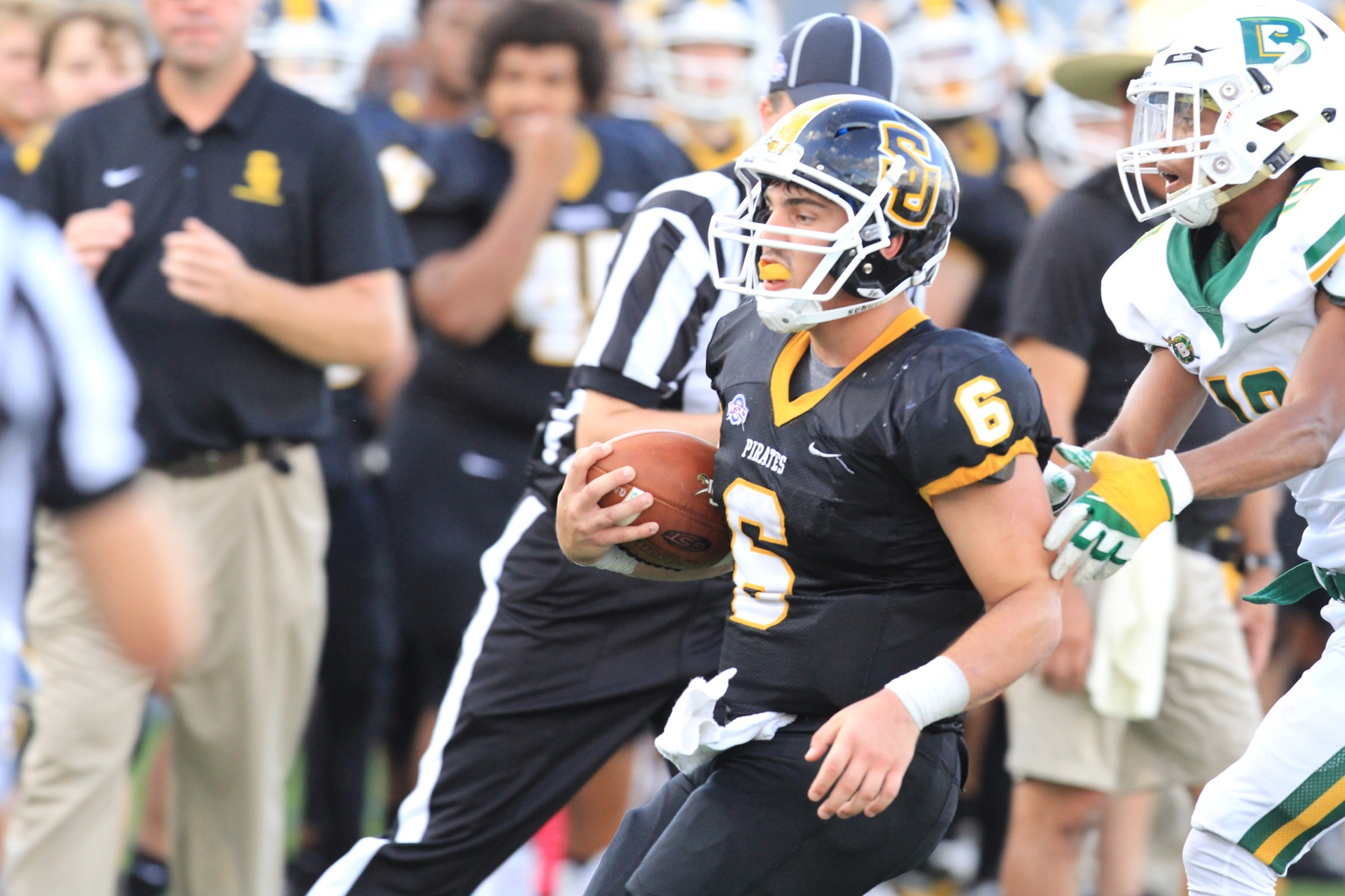 Football Overwhelmed By Hardin-Simmons' One-Two Punch