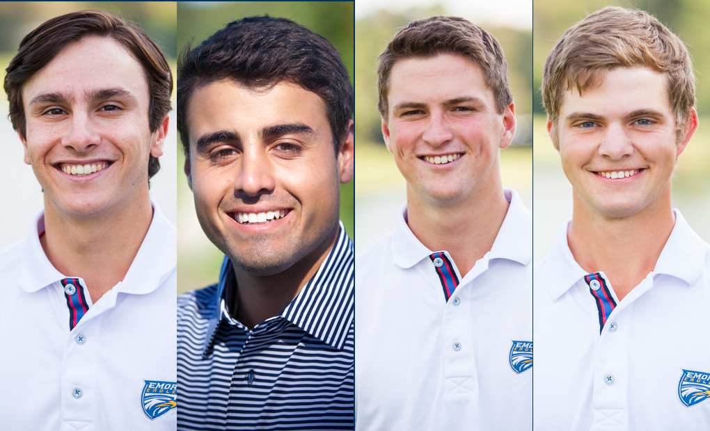 Emory Golf Places Four On All-UAA Team -- Organisak Named Player & Rookie Of The Year