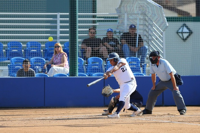 File Photo: Briana Lopez hit her third grand slam of the season in the Falcons win over Canyons
