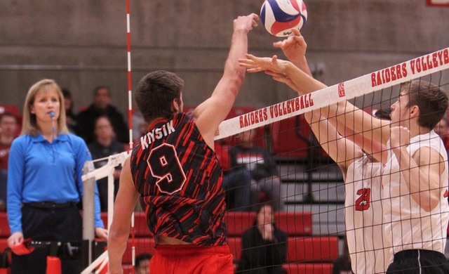 #14 Men's Volleyball Holds off MSJ in Four-Game Thriller