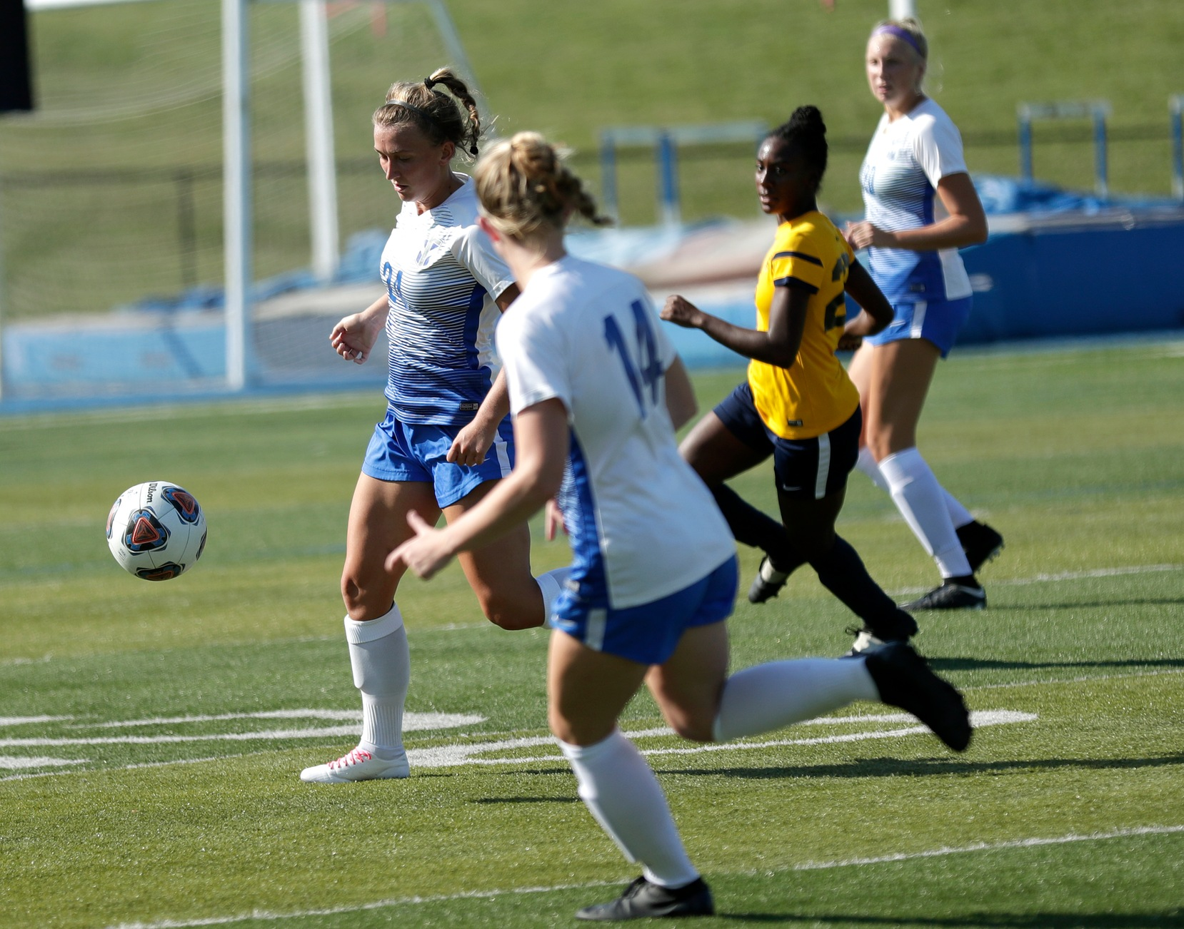 Women's Soccer Comes Out on Top, 2-1, Against Olivet