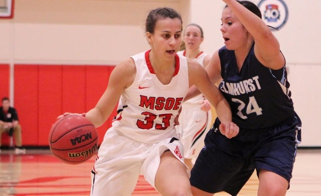 Women's Basketball Pulls Away at IIT For First Win