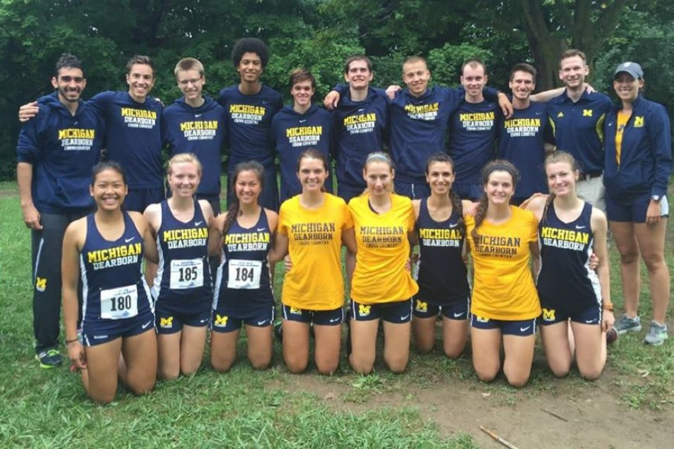 Photo for UM-Dearborn competes at Lansing Invitational