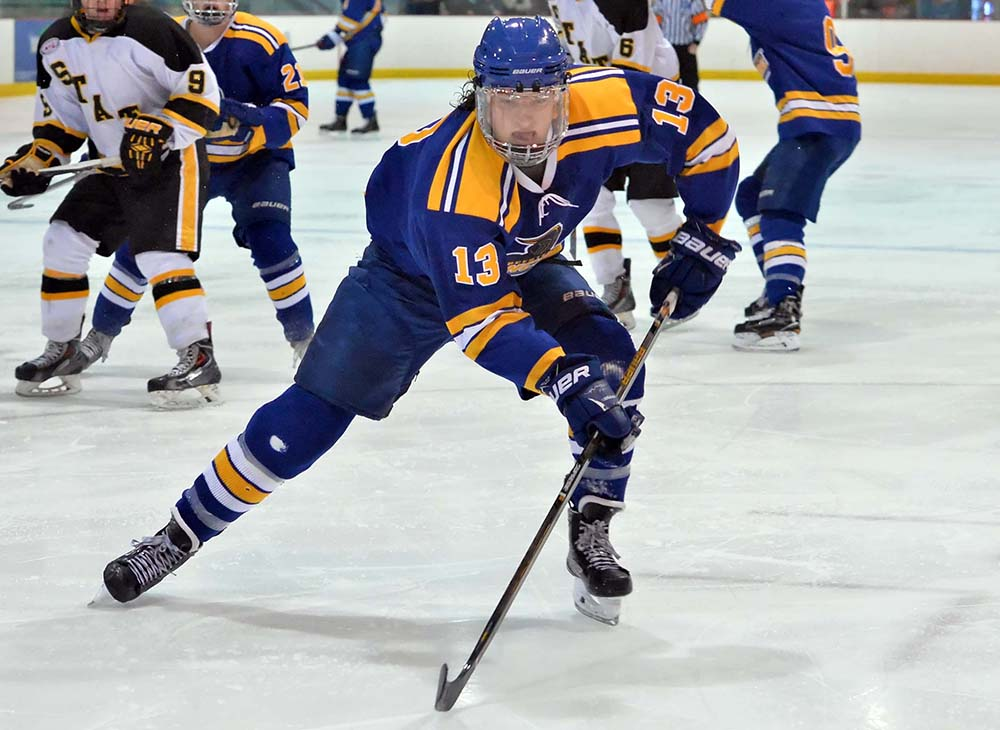 Palmer Scores Game-Winner in Lancers' 3-2 Win over Assumption College