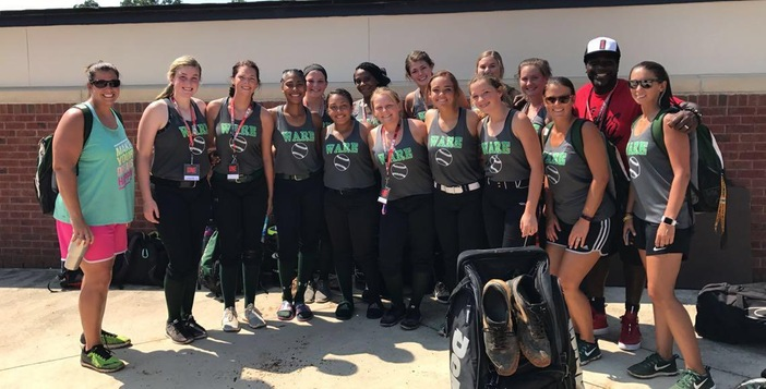 Lady Gator Softball Team Wraps up FCA Camp in Statesboro