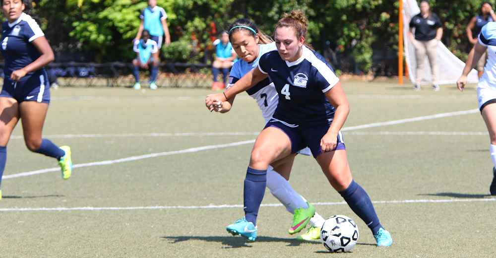 Women's Soccer Blanks Yeshiva To Post First Win For Coach Lawson
