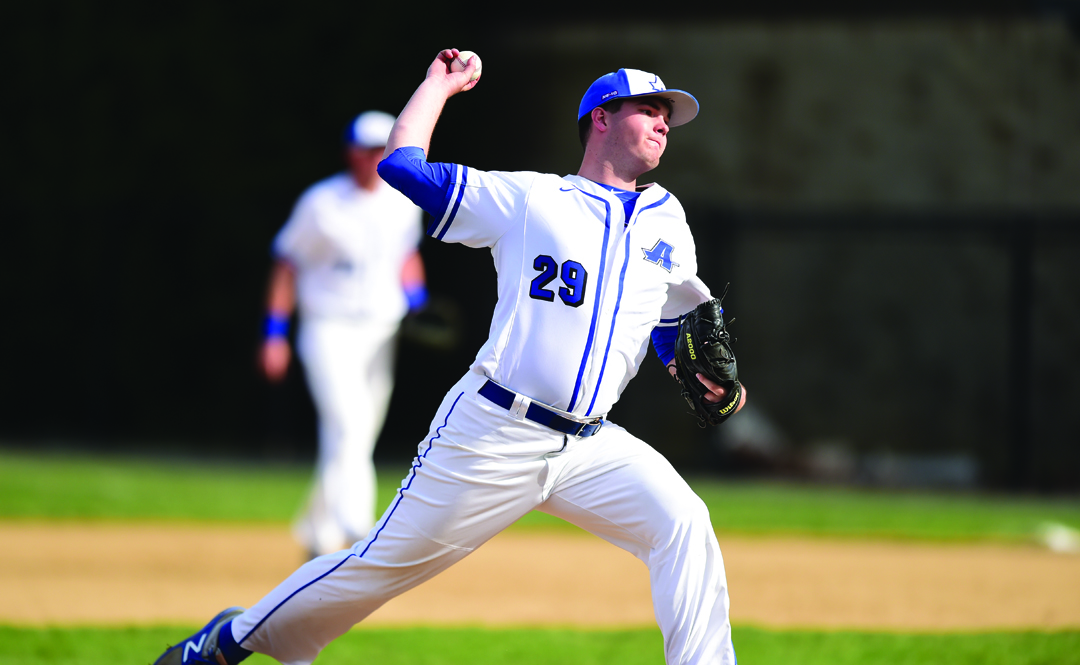 Baseball Picks Up Extra Innings Win Over Saint Anselm