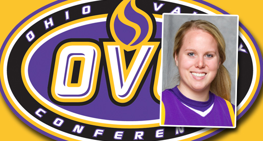 TTU's Kellie Cook named OVC's SAAC representative