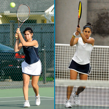 Tennis Tandem Secures NEWMAC All-Conference Accolades