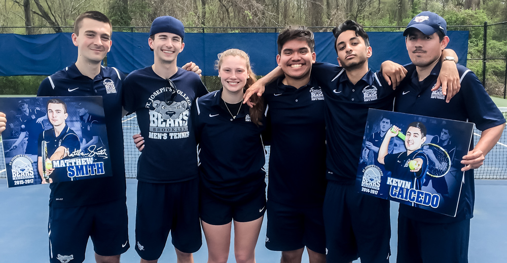 Men's Tennis Celebrates Senior Day With 6-3 Win Over Sage