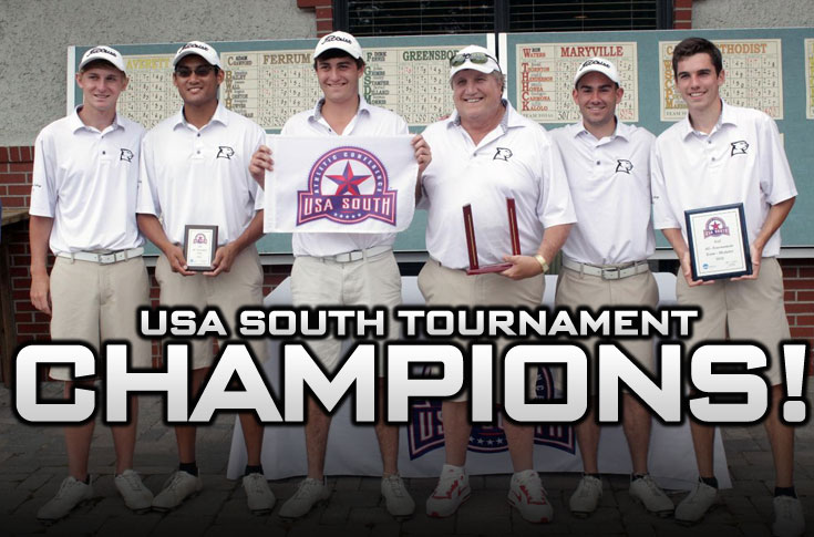Golf: CHAMPIONS! Panthers claim second straight USA South Tournament championship